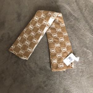 Michael Kors Double Sided Logo Scarf